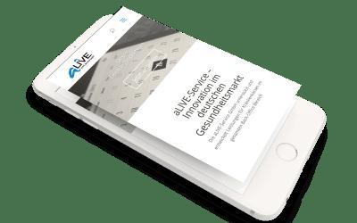 Neue Website der aLIVE-Service ist online