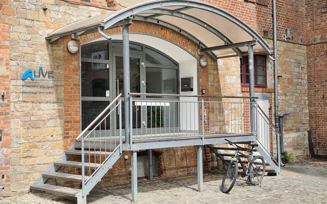 Eröffnung neuer Betriebsstätte in Quedlinburg